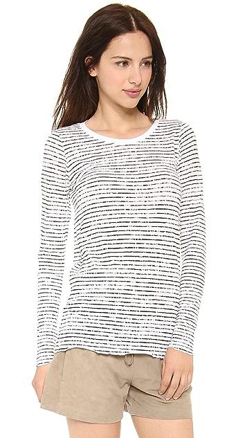 ATM Anthony Thomas Melillo Выцветшая футболка с длинными рукавами
