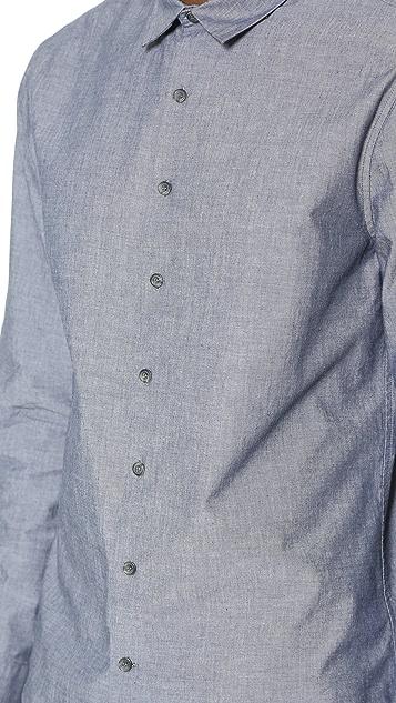 ATM Anthony Thomas Melillo Chambray Dress Shirt