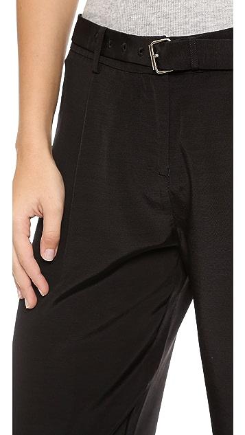 ATM Anthony Thomas Melillo Wide Leg Faille Pants