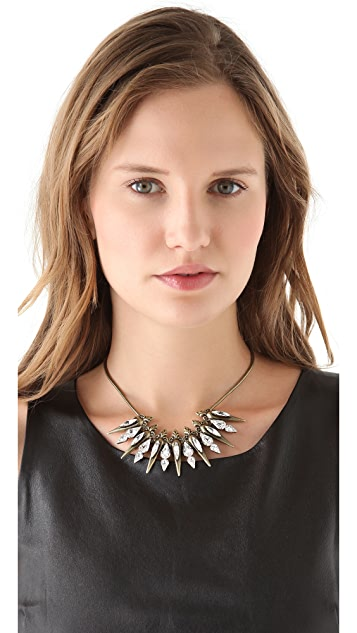 AUDEN Remy Spike Necklace