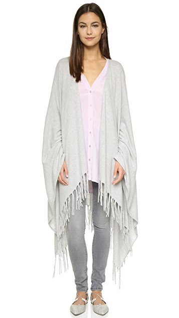 Autumn Cashmere Fringed Cape