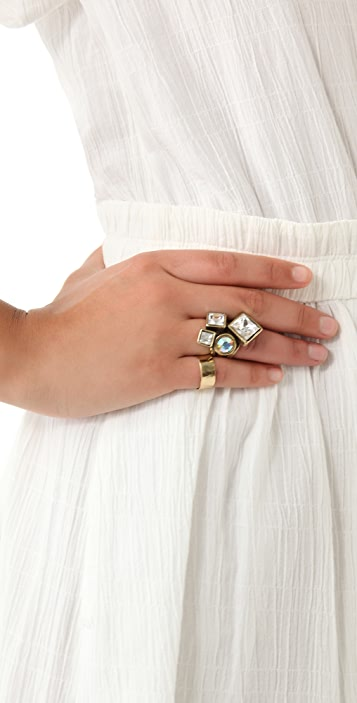 Avant Garde Paris Kristal Ring