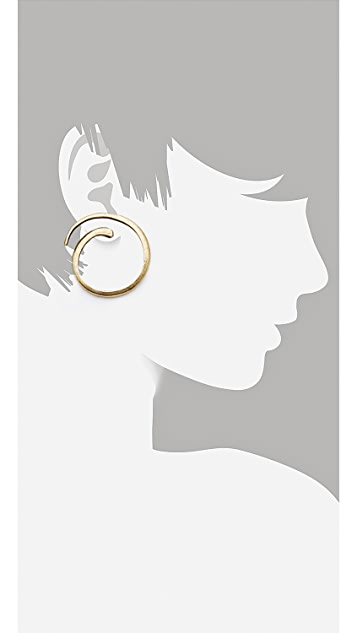 Avant Garde Paris Spirale Earrings