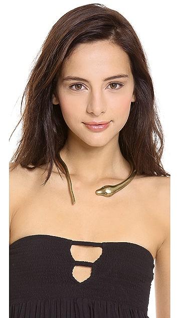 Avant Garde Paris Serpent Necklace