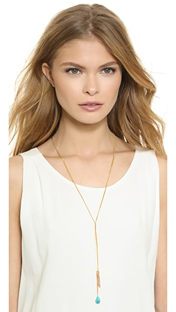 A.V. Max Double Drop Necklace