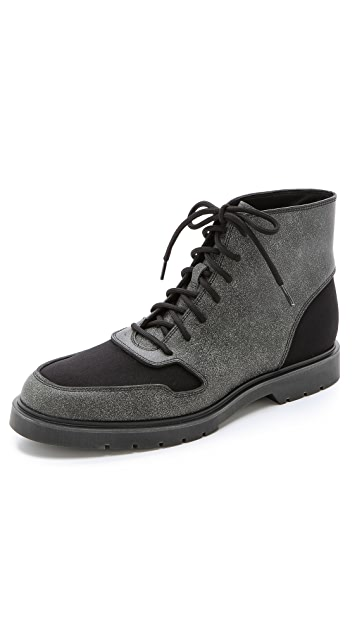 Alexander Wang Distressed Leather Boots