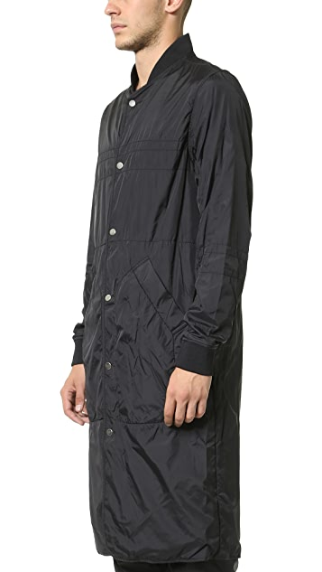 Alexander Wang Laundered Quilted Nylon Liner Coat