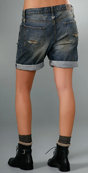 Alexander Wang Baggy Denim Short