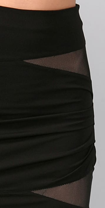 Alexander Wang Fitted Cutout Skirt