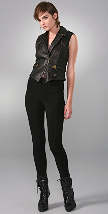 Alexander Wang Leather Vest
