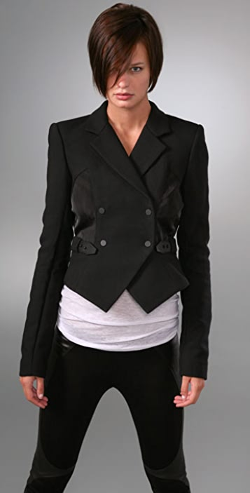 Alexander Wang Jacket with Leather Belt