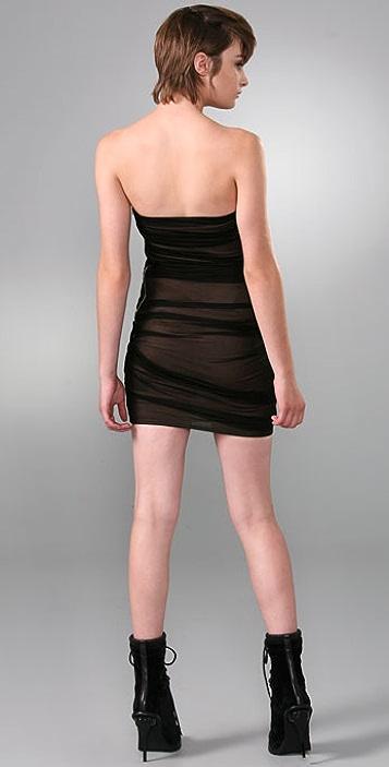 Alexander Wang Fitted Combo Dress