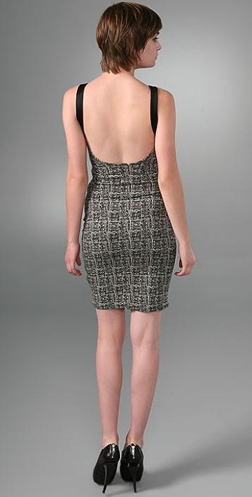 Alexander Wang Geometric Bustier Dress