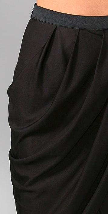 Alexander Wang Slinky Wrap Skirt