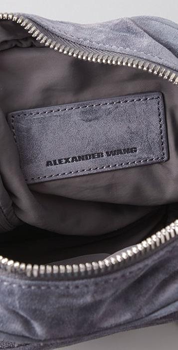 Alexander Wang Suede Brenda Mini Camera Bag