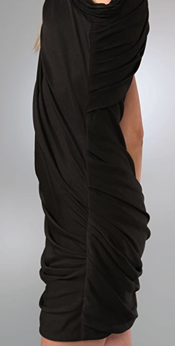 Alexander Wang Slinky Pique Goddess Dress