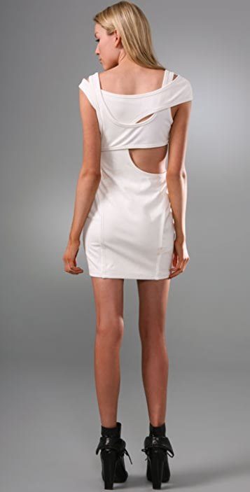 Alexander Wang Cutout Ponte Dress