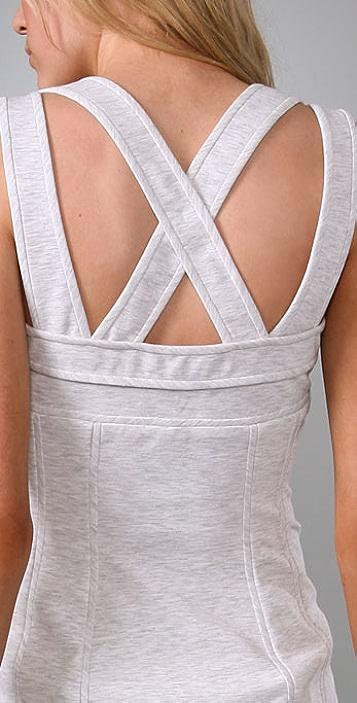Alexander Wang Ponte Dress with Cross Back
