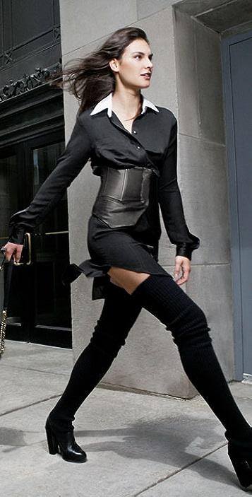 Alexander Wang Leather Corset Vest