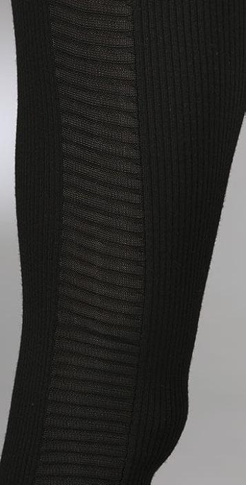 Alexander Wang Ribbed Knit Trouser