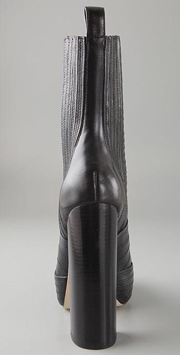 Alexander Wang Tasha Stitched Overlay Boots