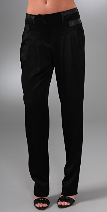 Alexander Wang Pegged Pants with Pleating