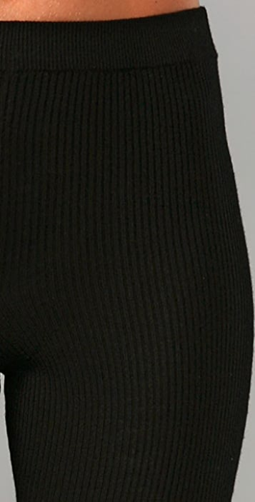 Alexander Wang Ribbed Leggings