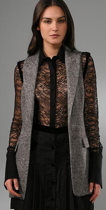 Alexander Wang Tailored Long Vest