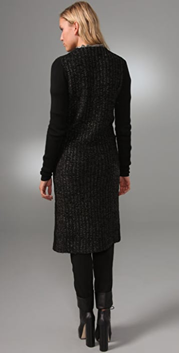 Alexander Wang Loop Stitch Long Cardigan