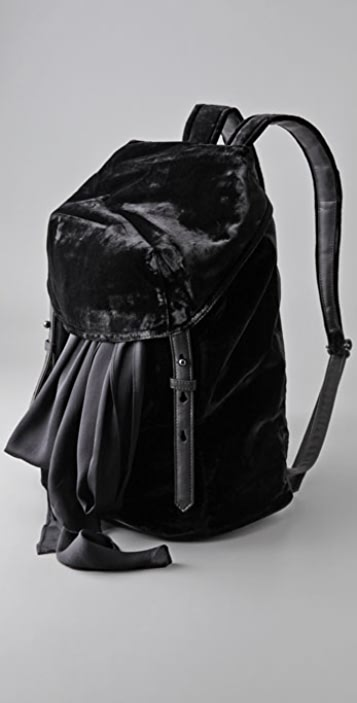 Alexander Wang Sydney Velvet Backpack