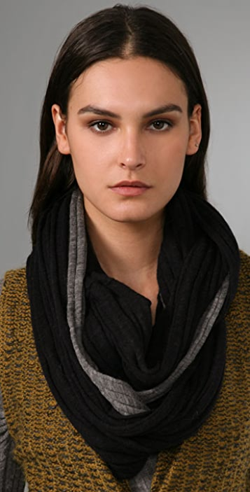 Alexander Wang Wide Rib Double Layer Scarf