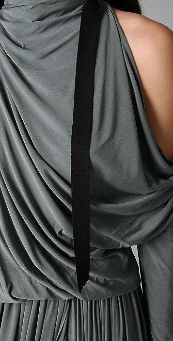 Alexander Wang Open Shoulder Cocktail Dress