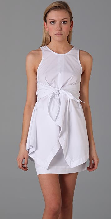 Alexander Wang Handkerchief Tie Dress