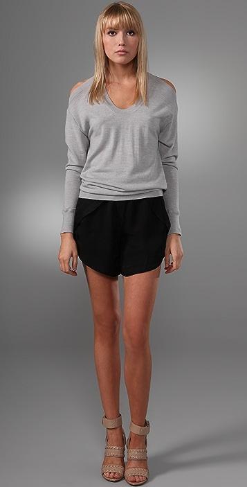 Alexander Wang Halter Pullover Sweater