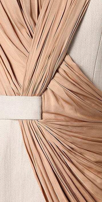 Alexander Wang Draped Tailored Dress