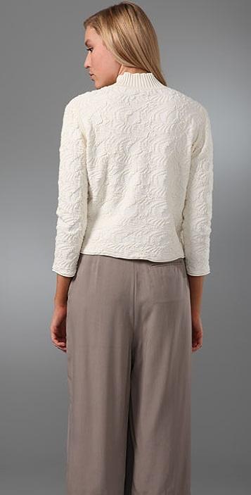Alexander Wang Jacquard Mock Neck Sweater