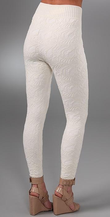 Alexander Wang Jacquard Leggings
