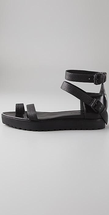 Alexander Wang Shalom Flat Sandals