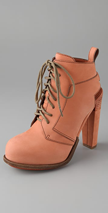 Alexander Wang Dakota Lace Up Booties