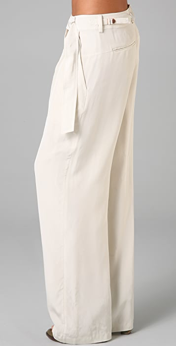 Alexander Wang Slouchy Belted Pants