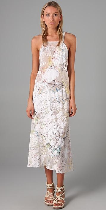 Alexander Wang Seamed Apron Slip Dress