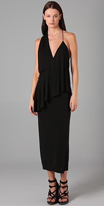 Alexander Wang Asymmetrical Sash Dress