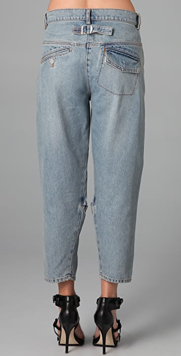Alexander Wang Jeans with Knee Slit