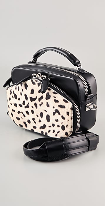 Alexander Wang Rafael Haircalf Structured Bag
