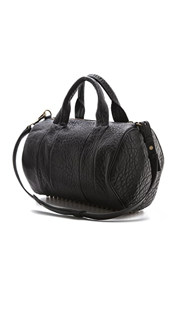 Alexander Wang Rocco Duffel with Gold Tone Hardware