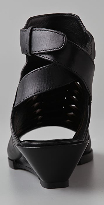 Alexander Wang Nika Demi Wedge Sandals