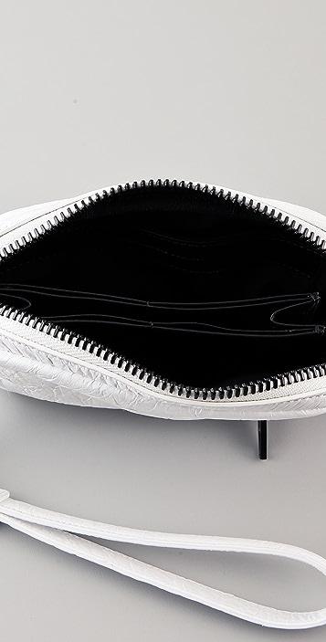 Alexander Wang Fumo Large Matte Wristlet