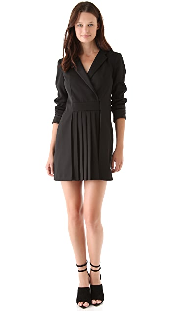 Alexander Wang Pleated Panel Dress