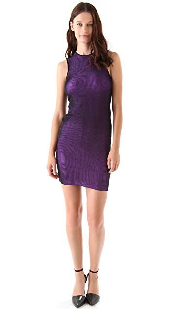 Alexander Wang Opviant Rib Tank Dress