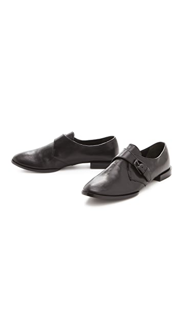 Alexander Wang Ruby Monk Strap Oxfords